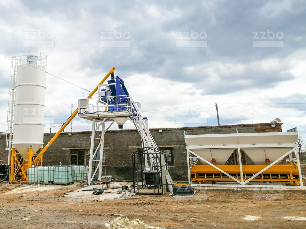 Бетонный завод СКИП-15 - фото 7