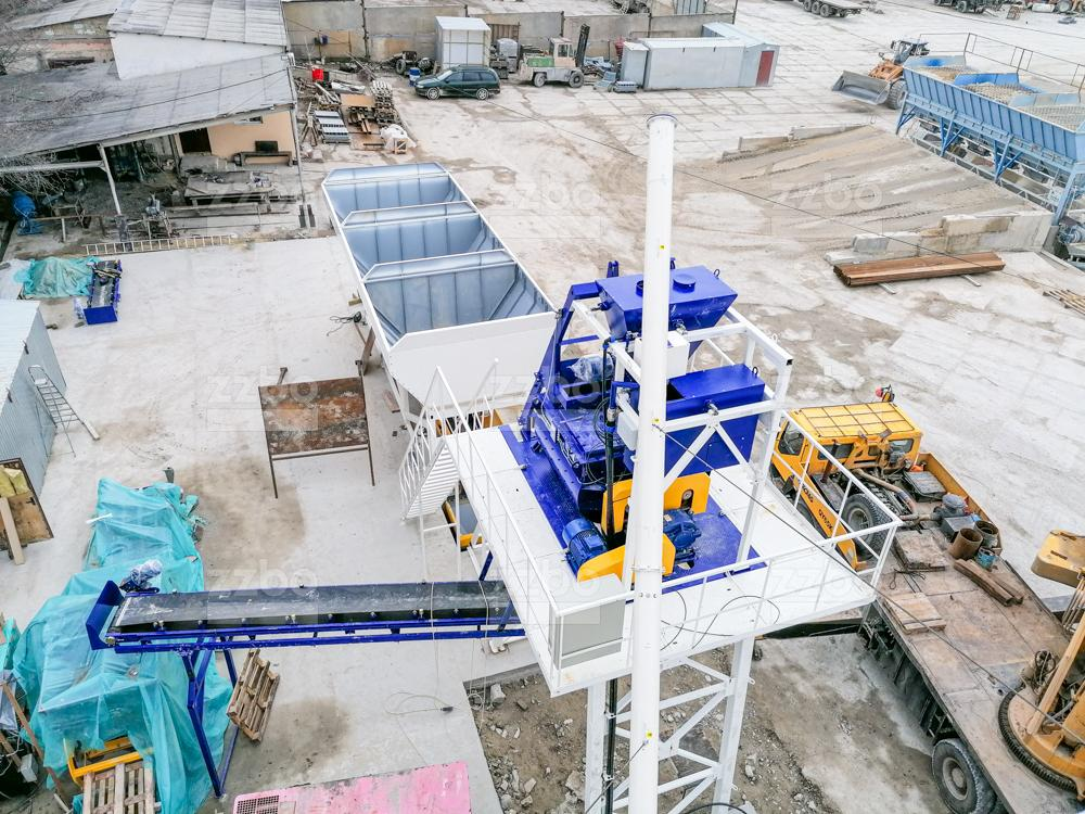 Бетонный завод СКИП-45 - фото 1