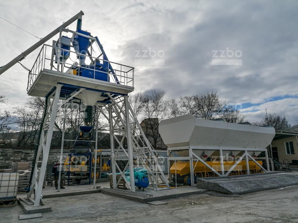Бетонный завод СКИП-45