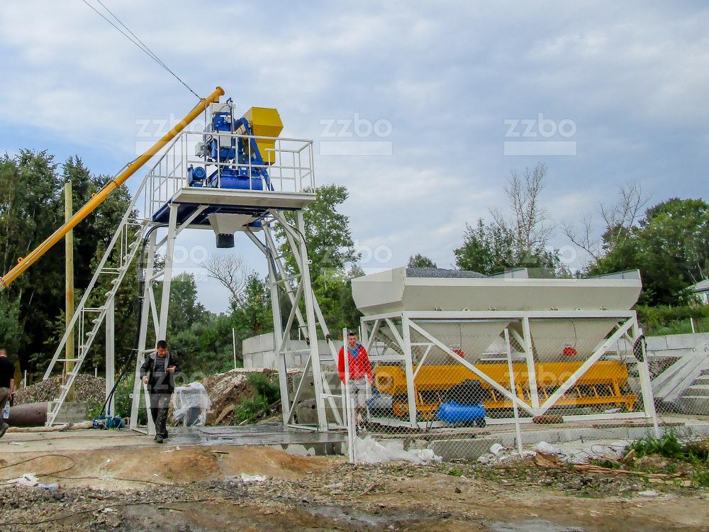 Бетонный завод СКИП-15 - фото 9