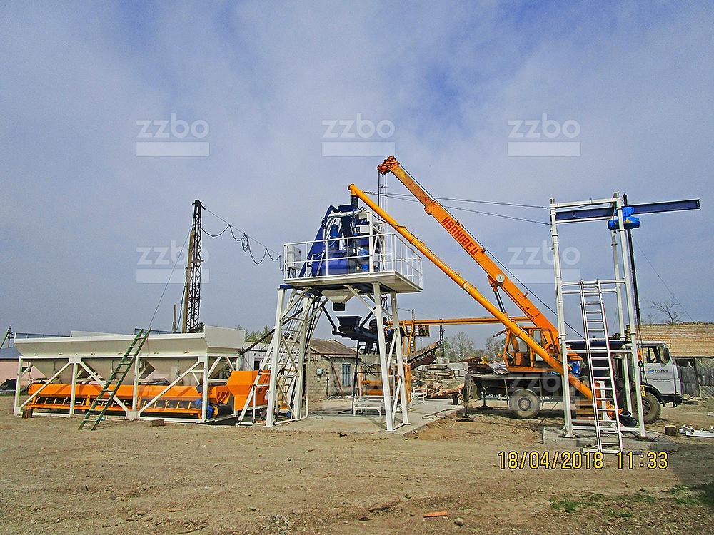 Бетонный завод СКИП-30 - фото 8