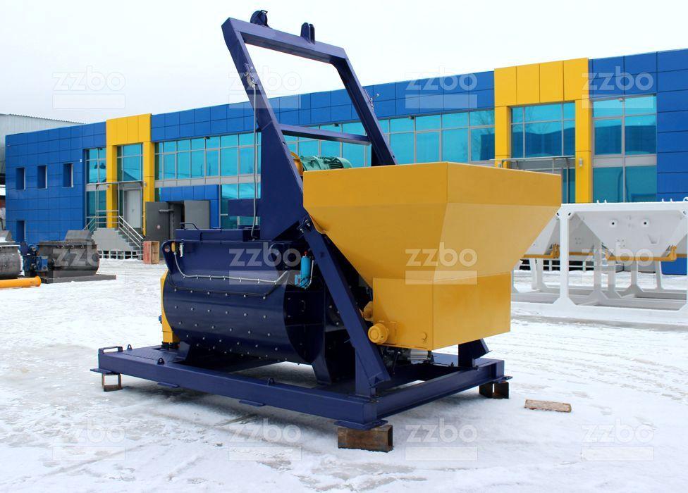 Двухвальный бетоносмеситель БП-2Г-1200с - фото 11