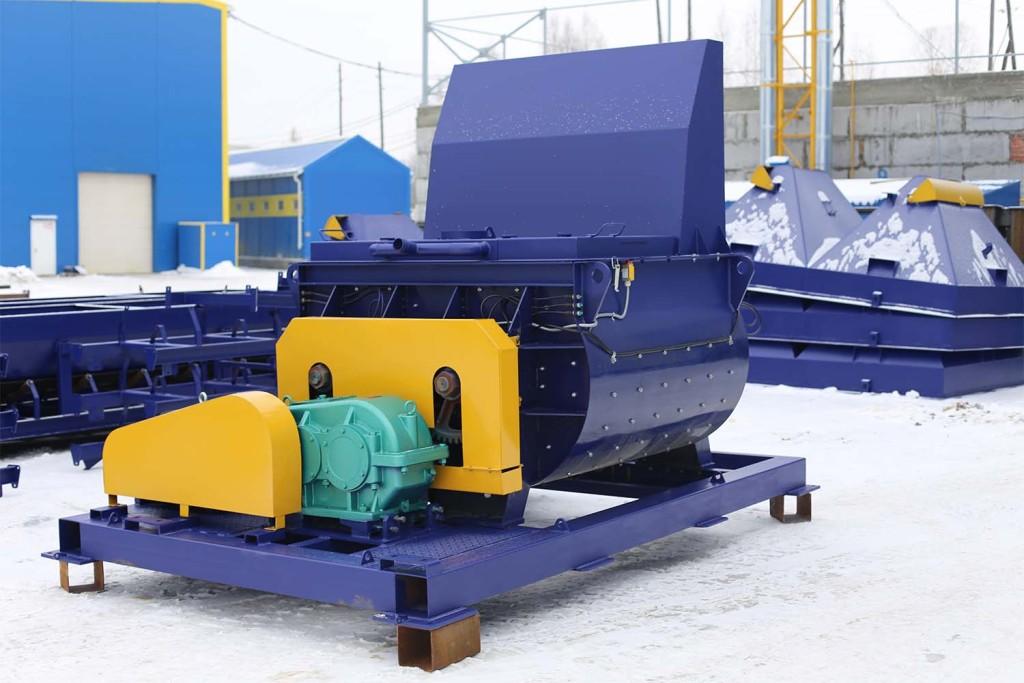 Двухвальный бетоносмеситель БП-2Г-1200 - фото 9