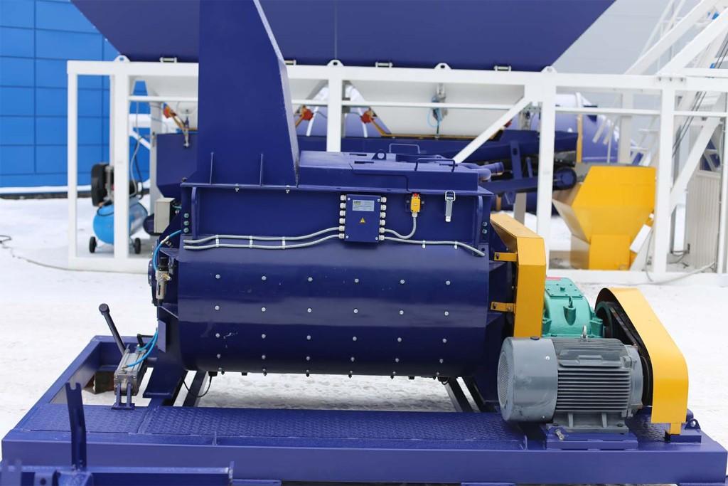 Двухвальный бетоносмеситель БП-2Г-1200 - фото 11