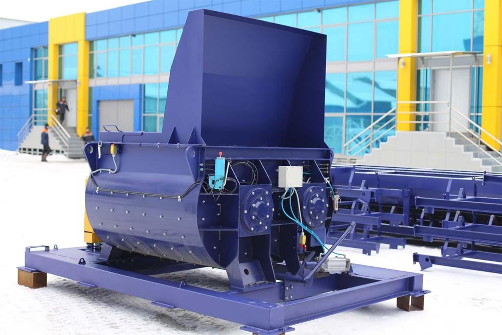 Двухвальный бетоносмеситель БП-2Г-1200 - фото 5