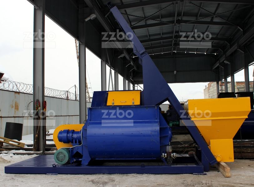 Двухвальный бетоносмеситель БП-2Г-1500с - фото 7