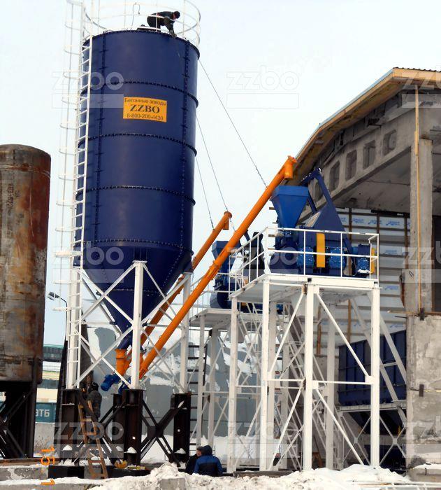 Бетонный завод СКИП30х2 - фото 5