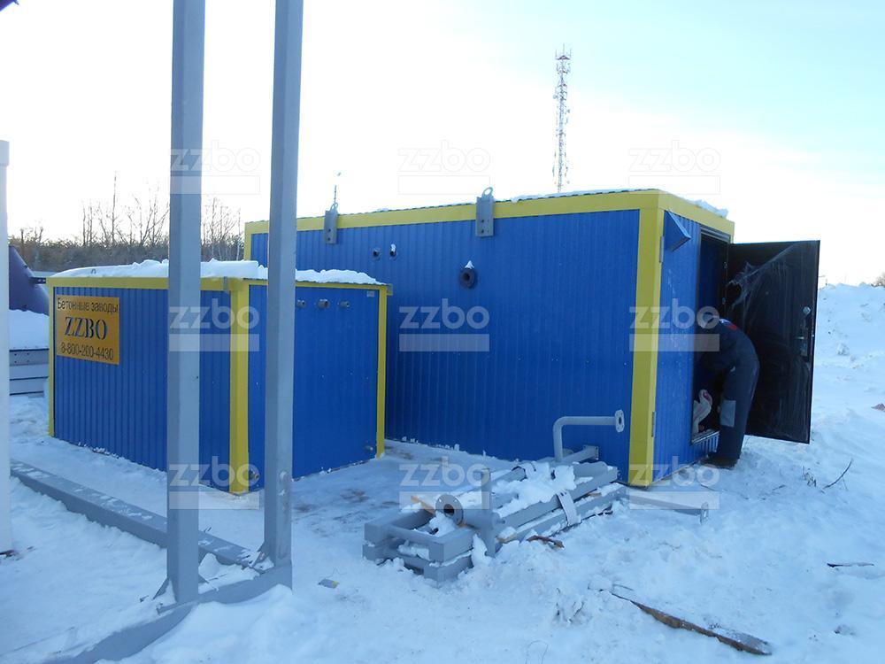 Дизельный парогенератор ПГ-1000 в блок-контейнере - фото 11