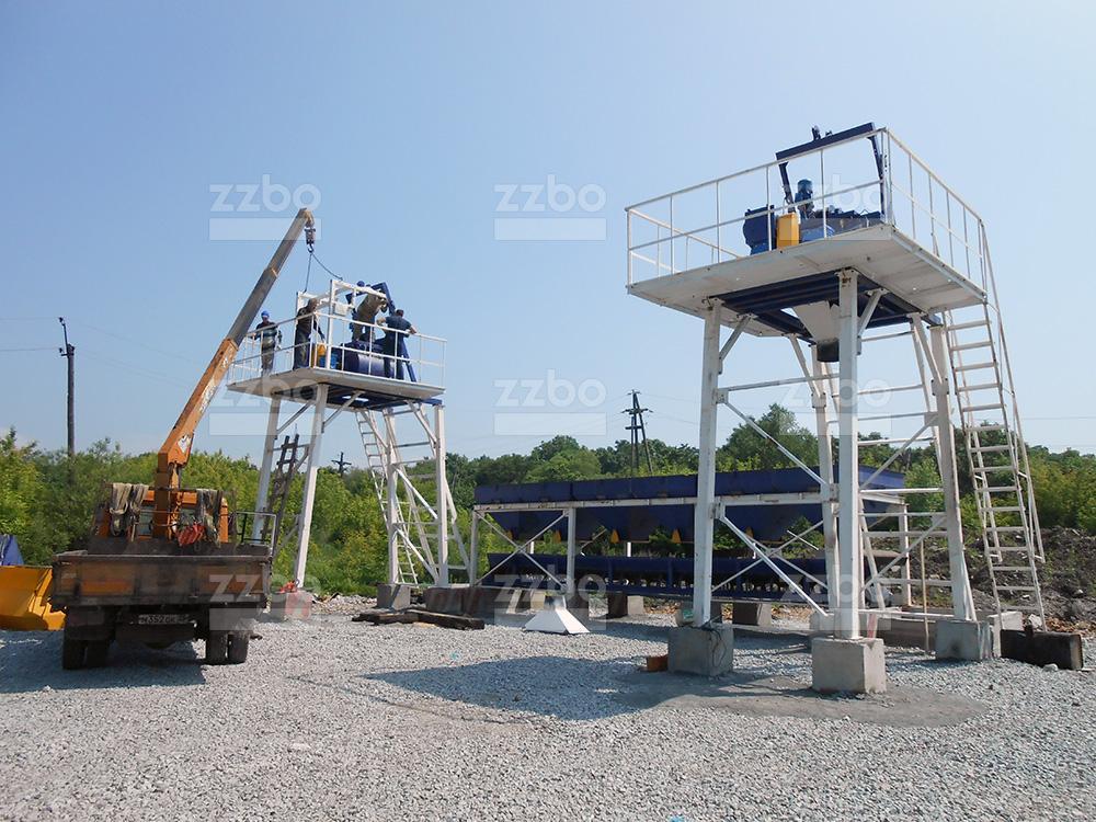 Бетонный завод СКИП30х2 - фото 12