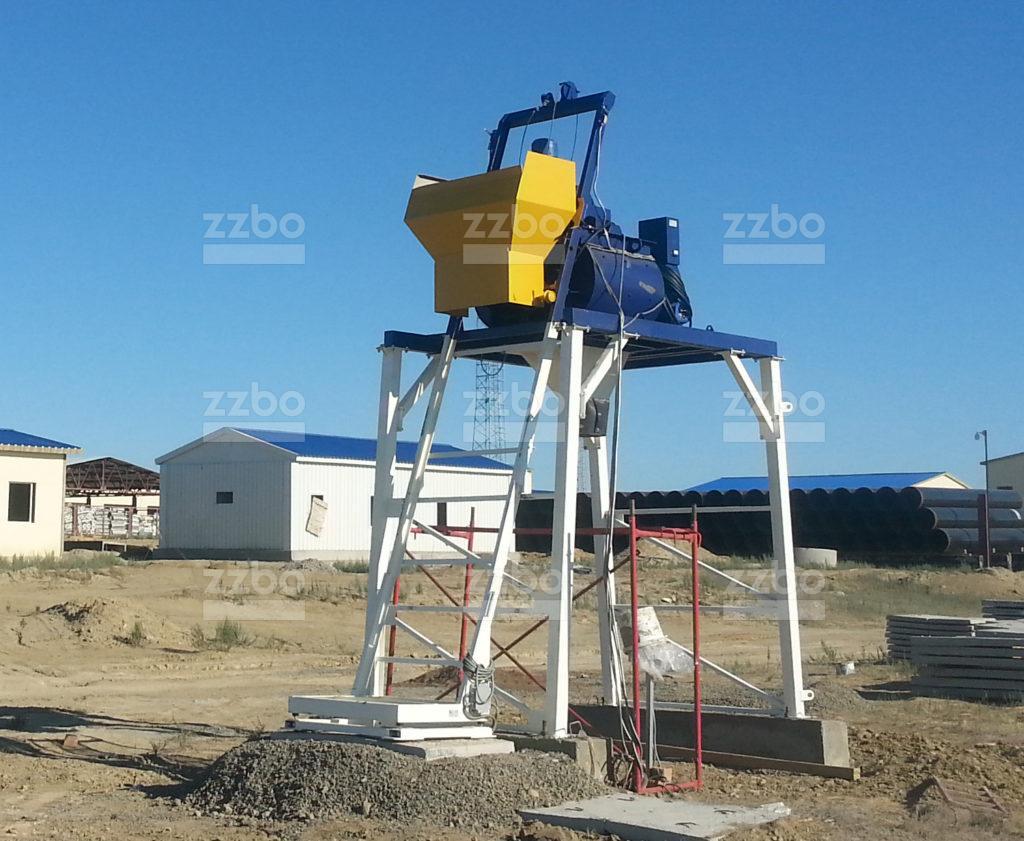 Бетонный завод Мини-РБУ-15 - фото 1