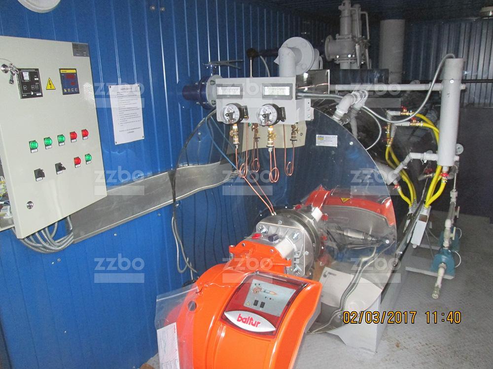 Дизельный парогенератор ПГ-1000 в блок-контейнере - фото 26