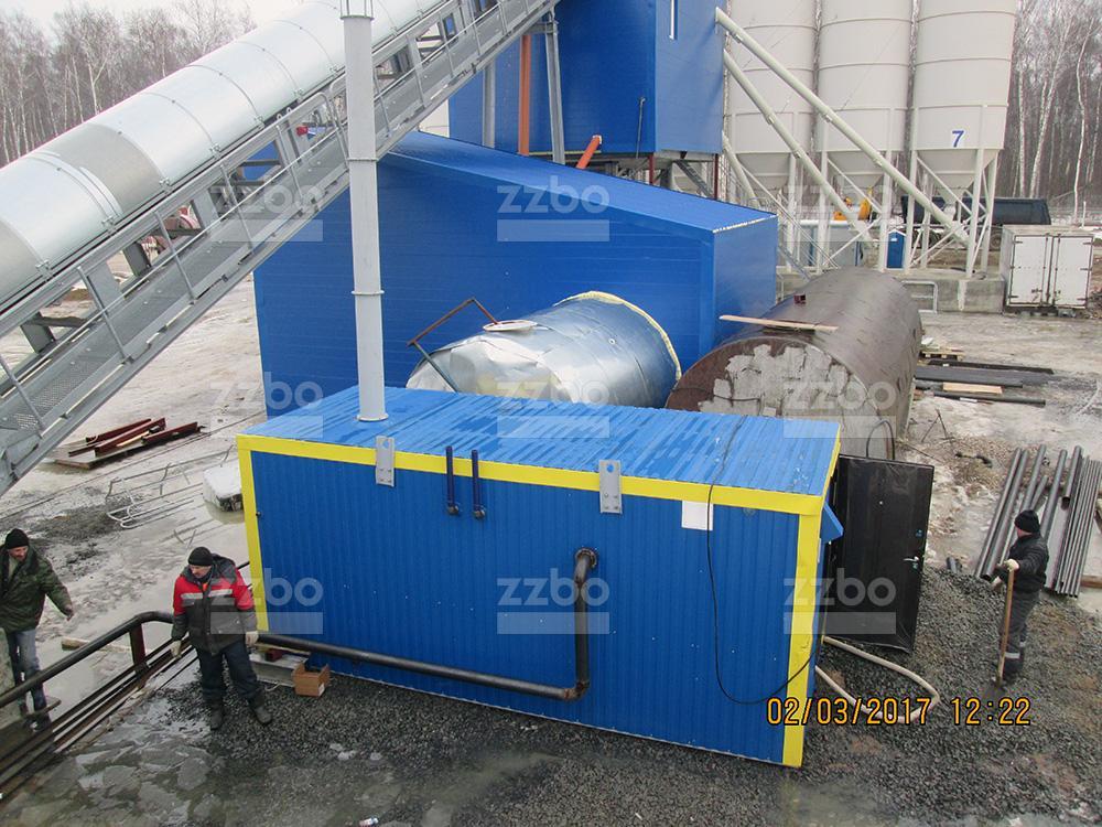 Дизельный парогенератор ПГ-1000 в блок-контейнере - фото 14