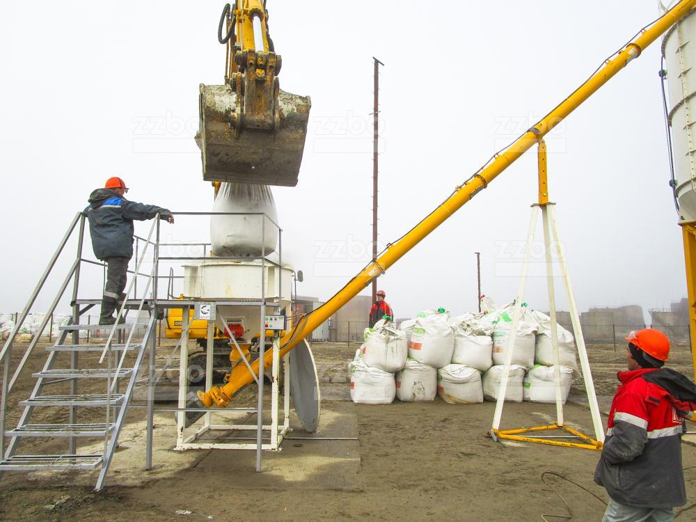Растариватель биг-бегов цемента РМК-2 - фото 4
