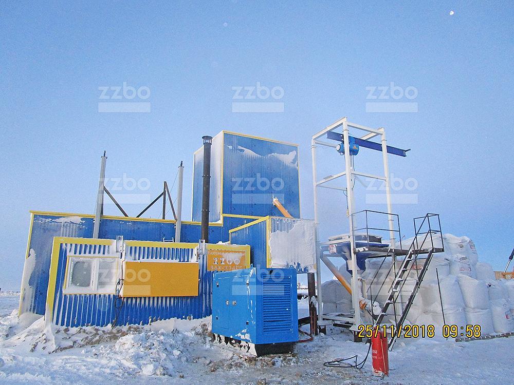 Бетонный завод ФЛАГМАН-15