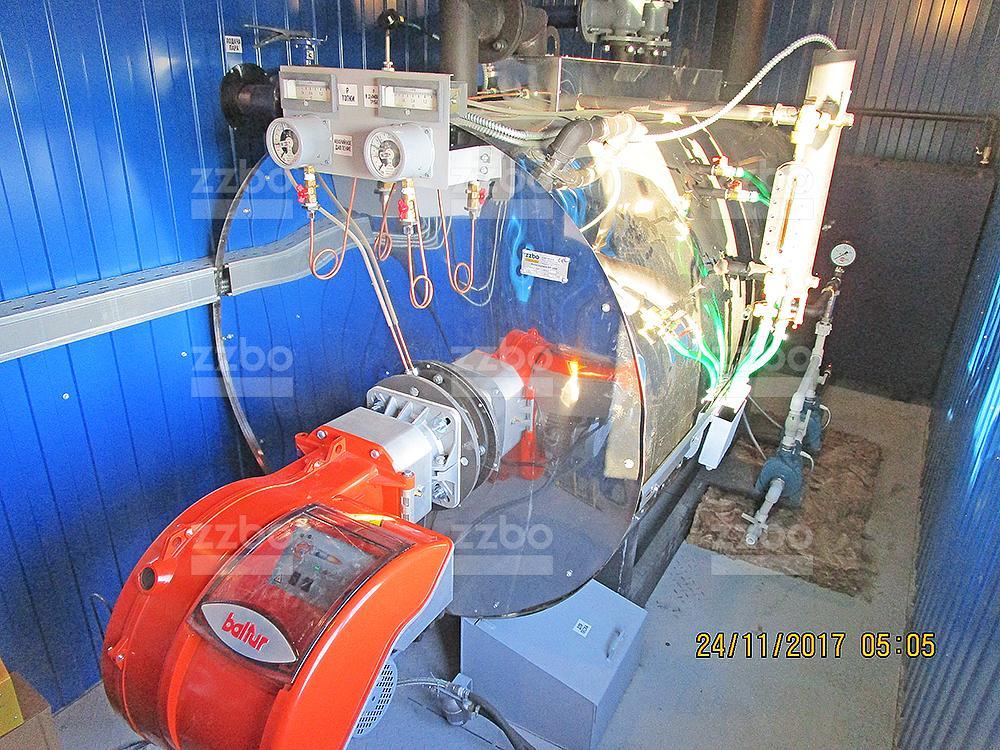 Дизельный парогенератор ПГ-1000 в блок-контейнере - фото 30