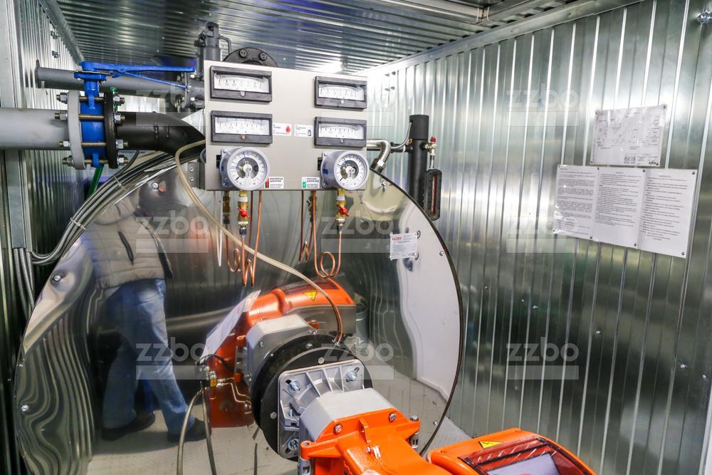 Дизельный парогенератор ПГ-1000 </br> в блок-контейнере - фото 13