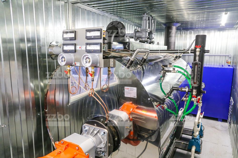 Дизельный парогенератор ПГ-1000 </br> в блок-контейнере - фото 10
