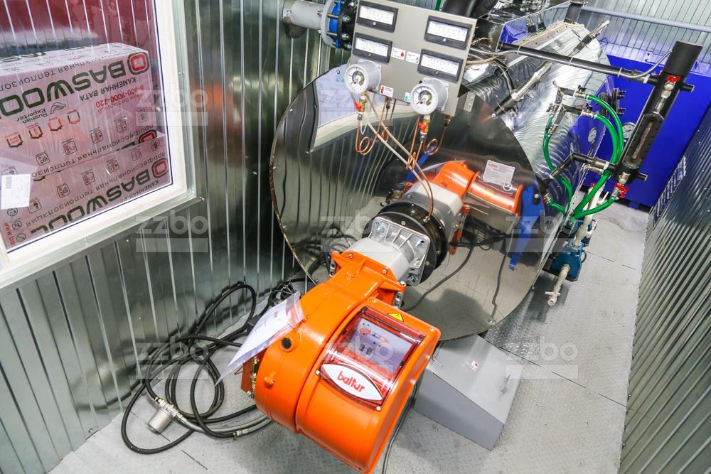 Дизельный парогенератор ПГ-1000 </br> в блок-контейнере - фото 11