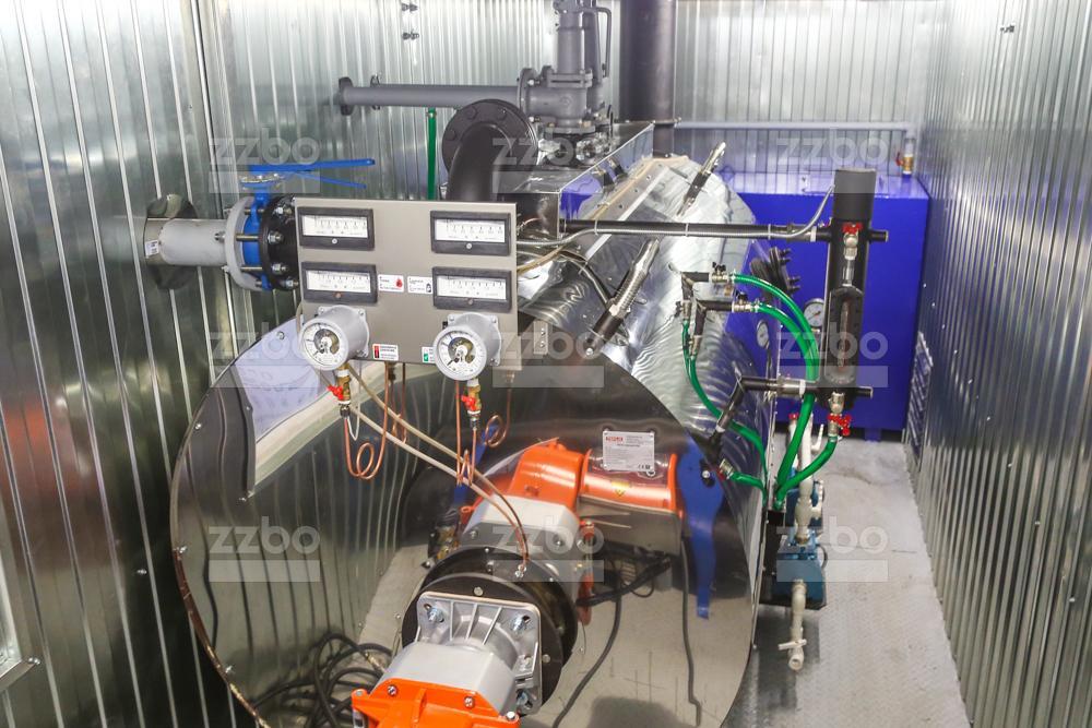 Дизельный парогенератор ПГ-1000 </br> в блок-контейнере - фото 9
