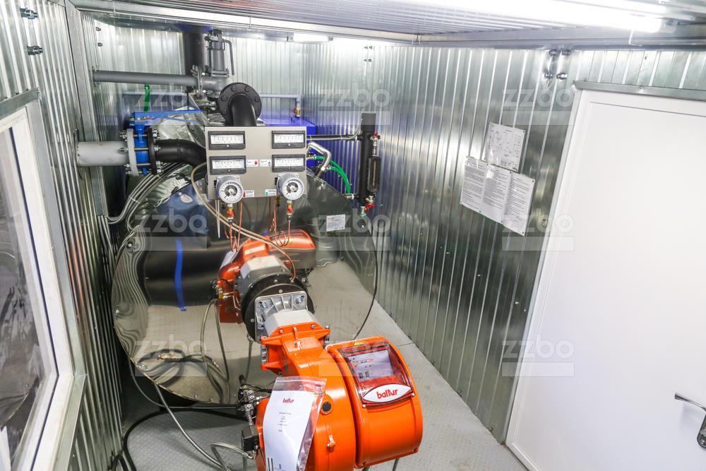 Дизельный парогенератор ПГ-1000 </br> в блок-контейнере - фото 8