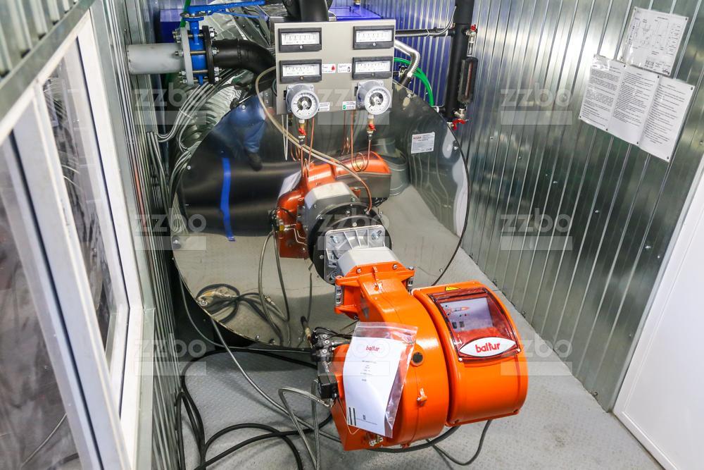 Дизельный парогенератор ПГ-1000 </br> в блок-контейнере - фото 7