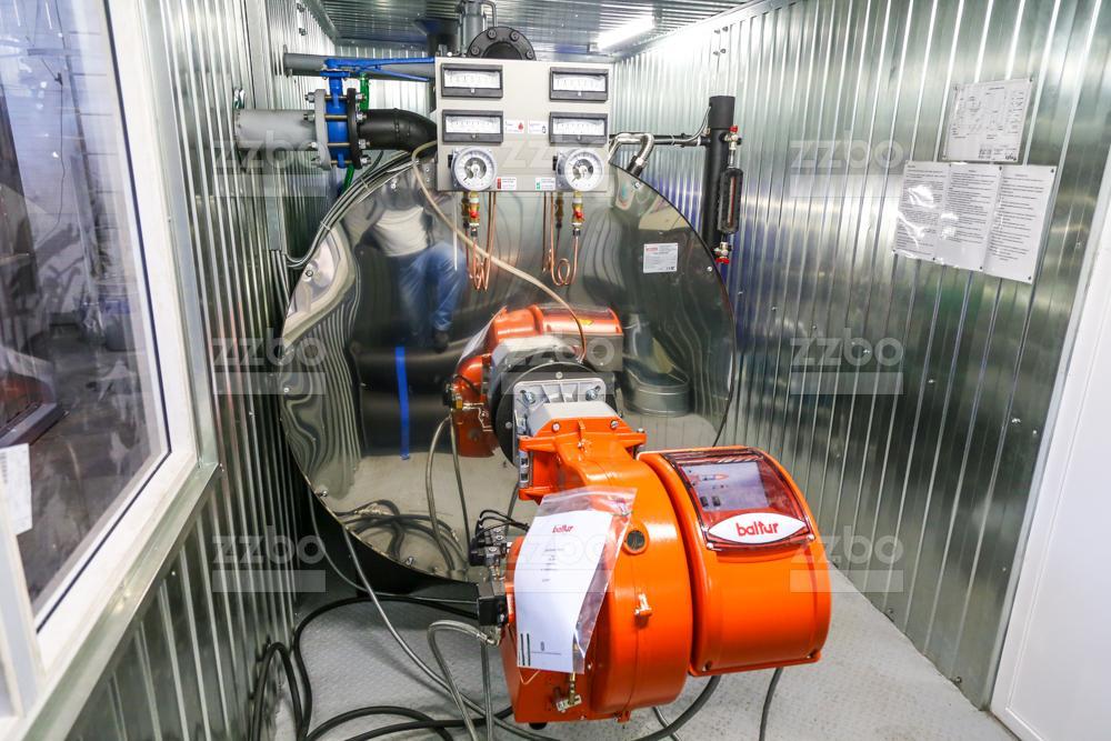Дизельный парогенератор ПГ-1000 </br> в блок-контейнере - фото 6