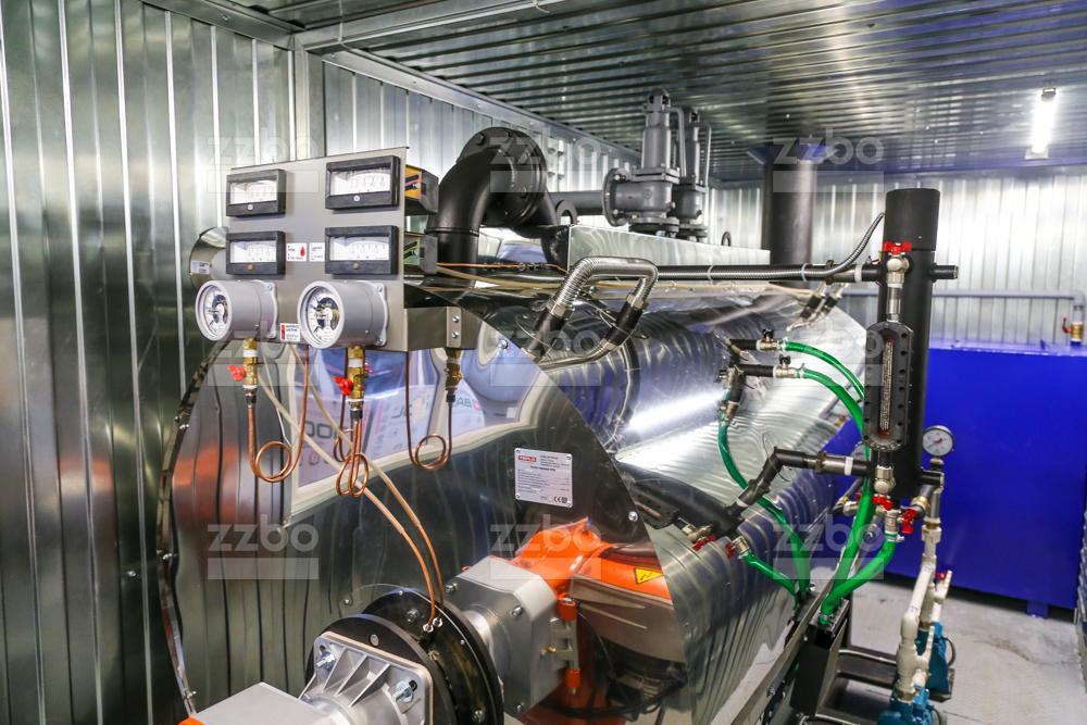 Дизельный парогенератор ПГ-1000 </br> в блок-контейнере - фото 5