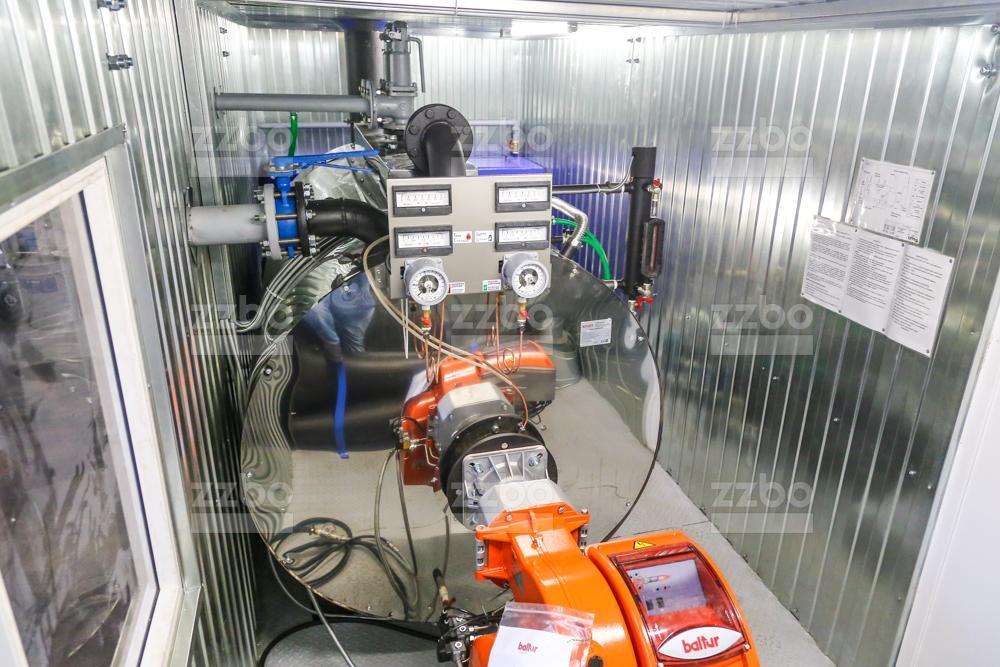 Дизельный парогенератор ПГ-1000 </br> в блок-контейнере - фото 3