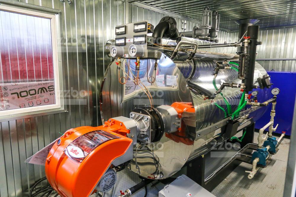 Дизельный парогенератор ПГ-1000 </br> в блок-контейнере