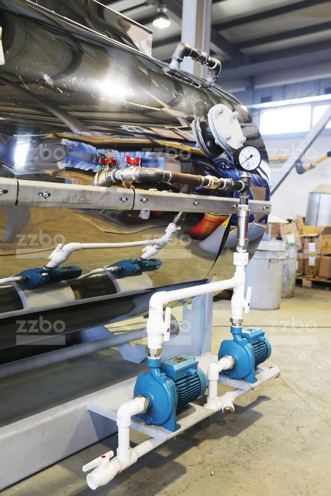 Дизельный парогенератор ПГ-1000 в блок-контейнере - фото 8