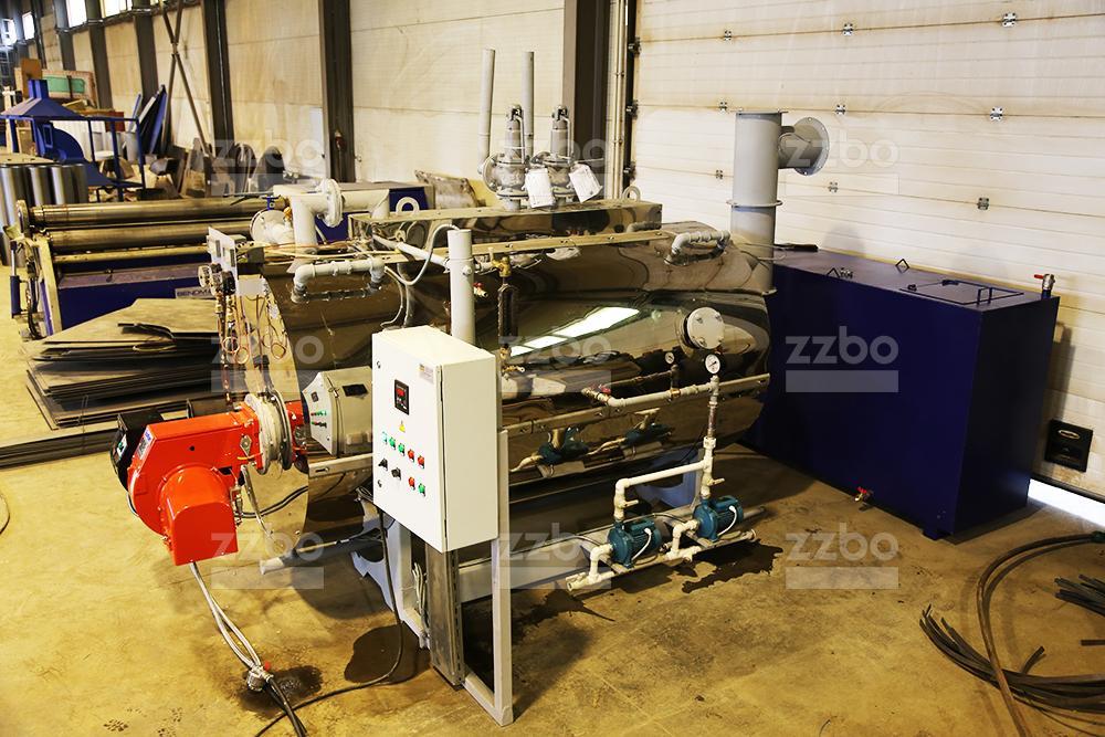 Дизельный парогенератор ПГ-1000 в блок-контейнере - фото 15