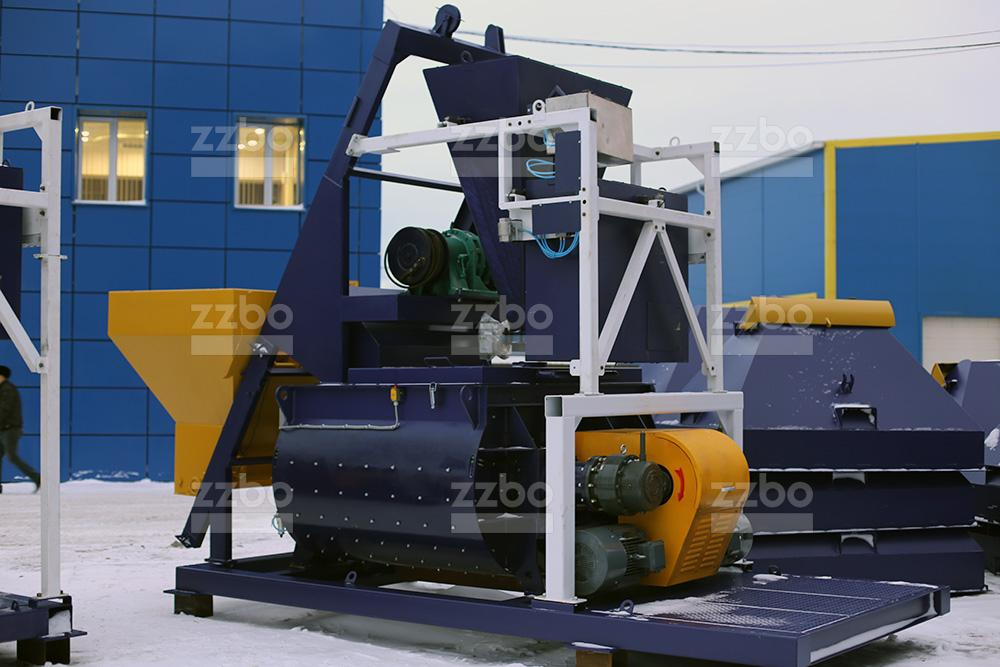 Двухвальный бетоносмеситель БП-2Г-2250с - фото 2
