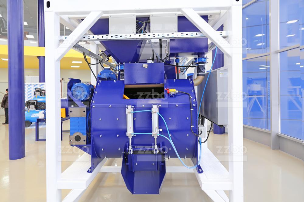 Одновальный бетоносмеситель БП-1Г-500 - фото 1