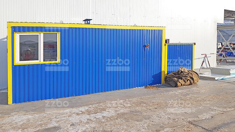 Дизельный теплогенератор ТГВ-250 в блок-контейнере - фото 2