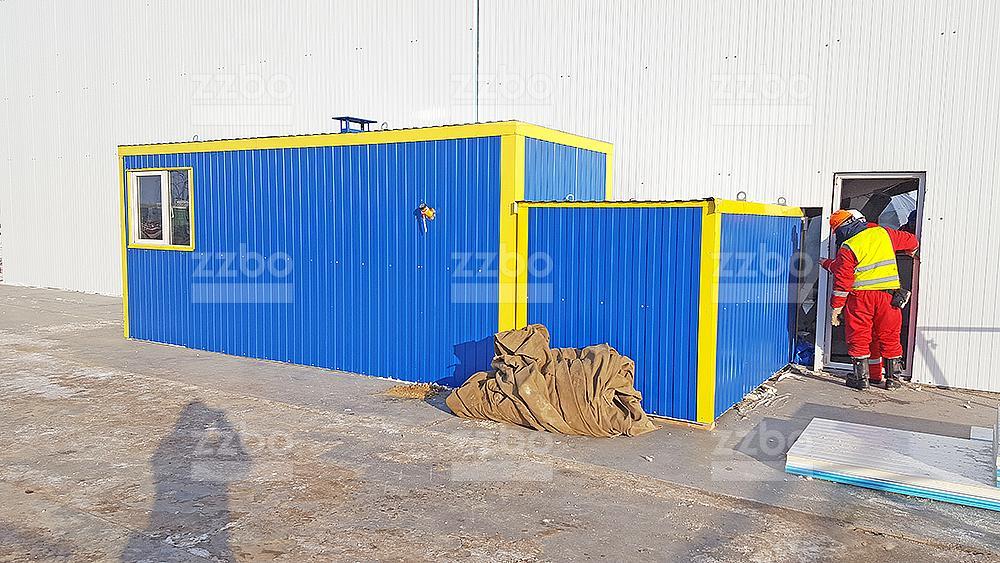 Дизельный теплогенератор ТГВ-250 в блок-контейнере - фото 24