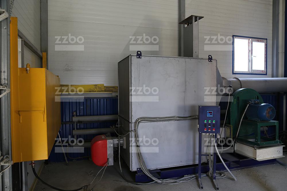 Дизельный теплогенератор ТГВ-250 в блок-контейнере - фото 15