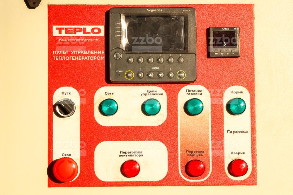 Дизельный теплогенератор ТГВ-250 на раме - фото 2