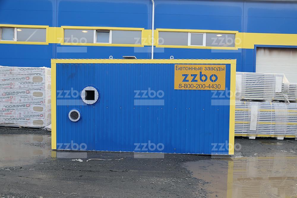 Дизельный теплогенератор ТГВ-250 в блок-контейнере - фото 8