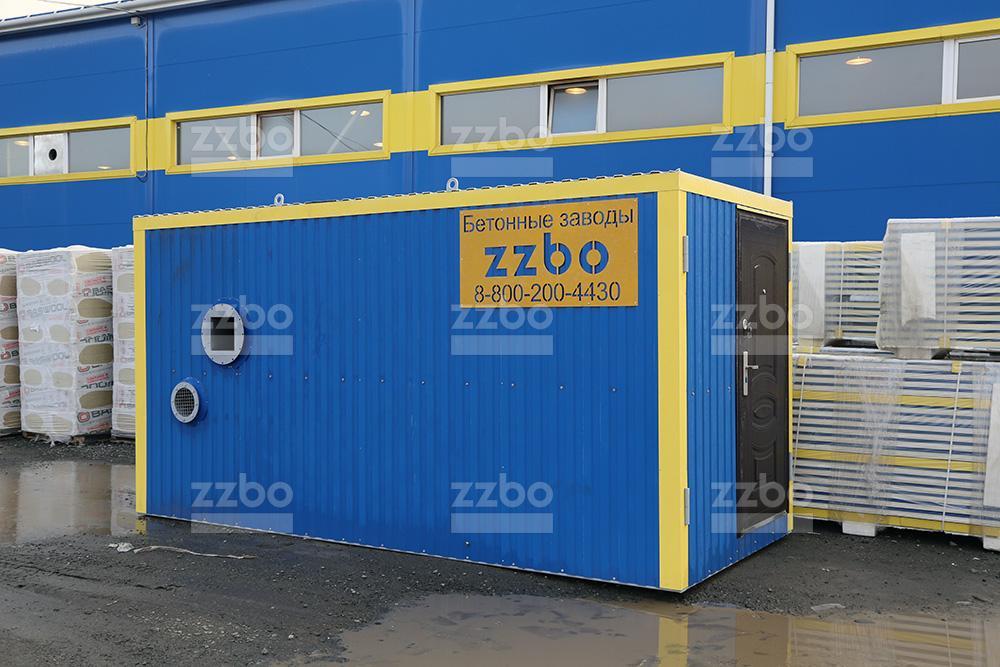 Дизельный теплогенератор ТГВ-450 </br> в блок-контейнере - фото 24