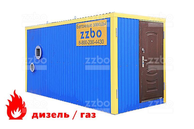 Дизельный теплогенератор ТГВ-450 </br> в блок-контейнере - фото 15