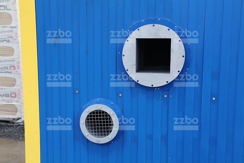 Дизельный теплогенератор ТГВ-250 в блок-контейнере - фото 23