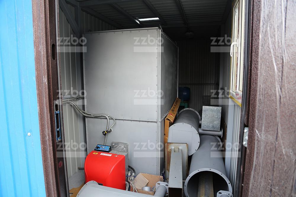 Газовый теплогенератор ТГВ-250 в блок-контейнере - фото 12