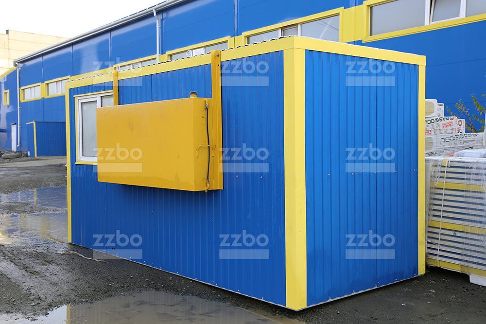 Дизельный теплогенератор ТГВ-250 в блок-контейнере - фото 14