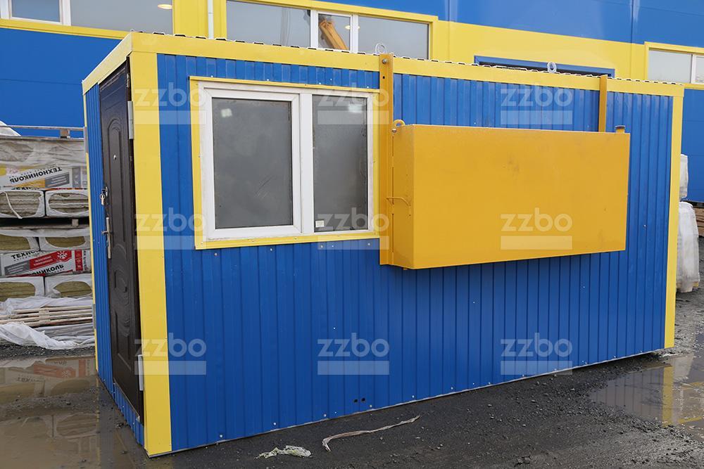 Дизельный теплогенератор ТГВ-450 </br> в блок-контейнере - фото 16
