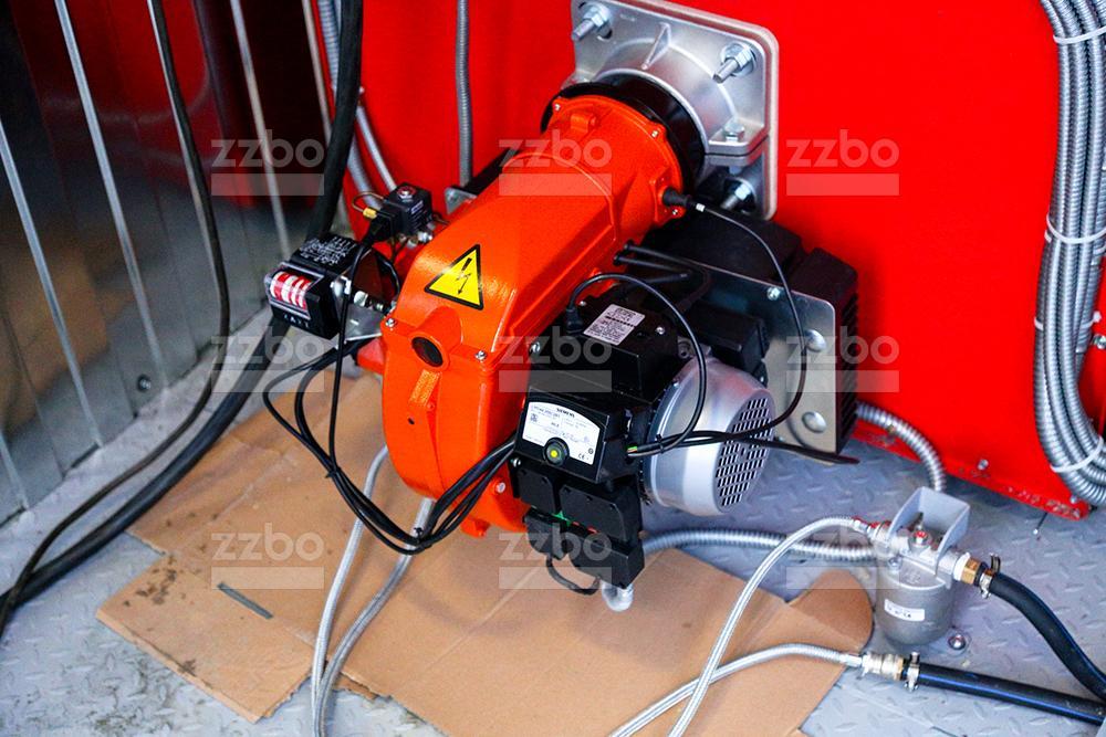 Дизельный теплогенератор ТГВ-450 </br> в блок-контейнере - фото 4