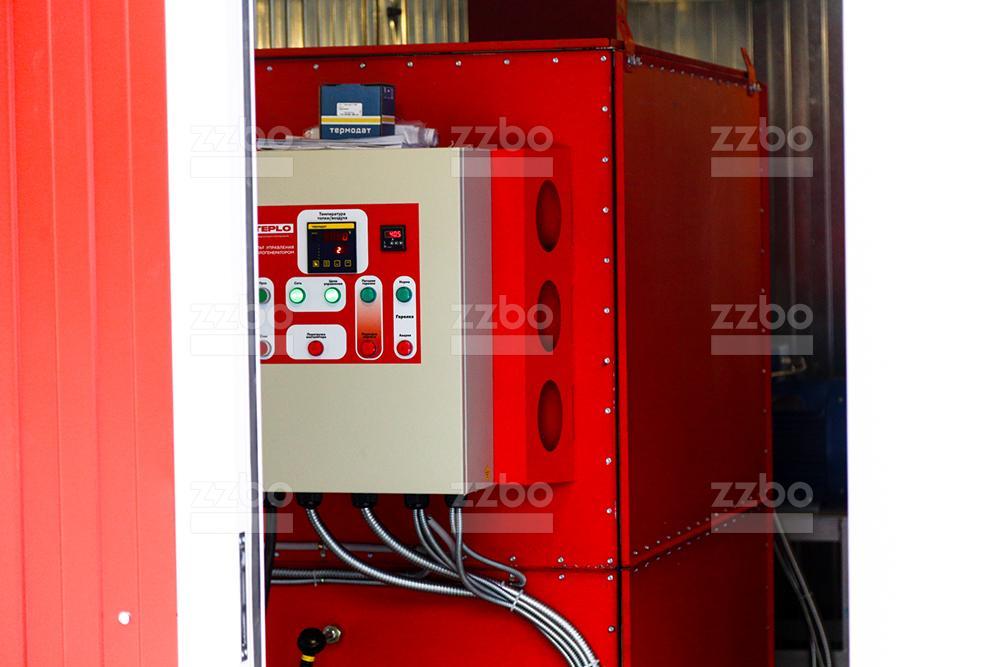 Дизельный теплогенератор ТГВ-450 </br> в блок-контейнере - фото 1