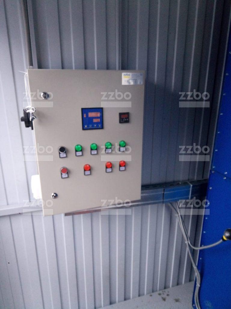 Дизельный теплогенератор ТГВ-250 в блок-контейнере - фото 12