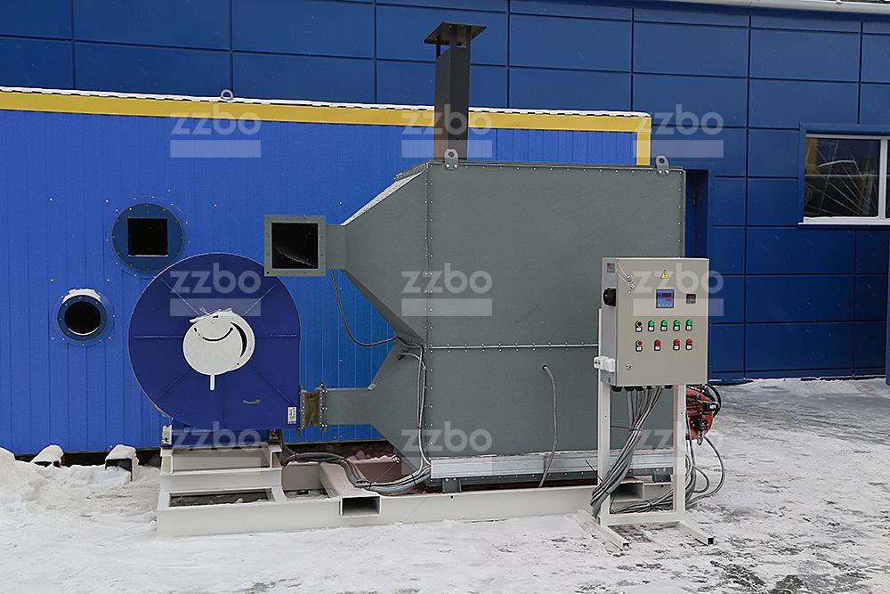 Газовый теплогенератор ТГВ-450 </br> в блок-контейнере - фото 10