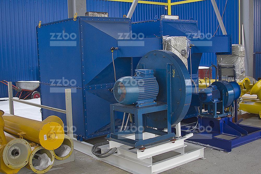 Газовый теплогенератор ТГВ-250 на раме - фото 13