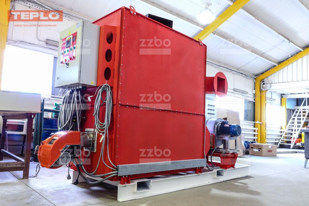 Газовый теплогенератор ТГВ-450 на раме - фото 30